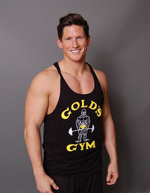 gold 39 s gym classic joe premium stringer gold sport. Black Bedroom Furniture Sets. Home Design Ideas
