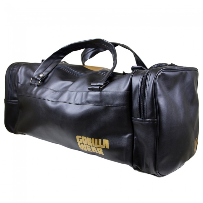 Gym Bag Gorilla Wear: Gorilla Wear Gym Bag Black/Gold 2.0